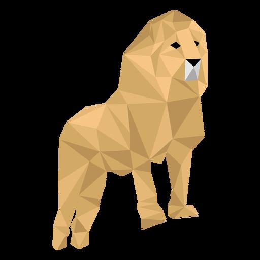 Lion King Roar Mane Leg Low Poly Ad Aff Aff Roar Poly Leg King Lion King Low Poly Roar