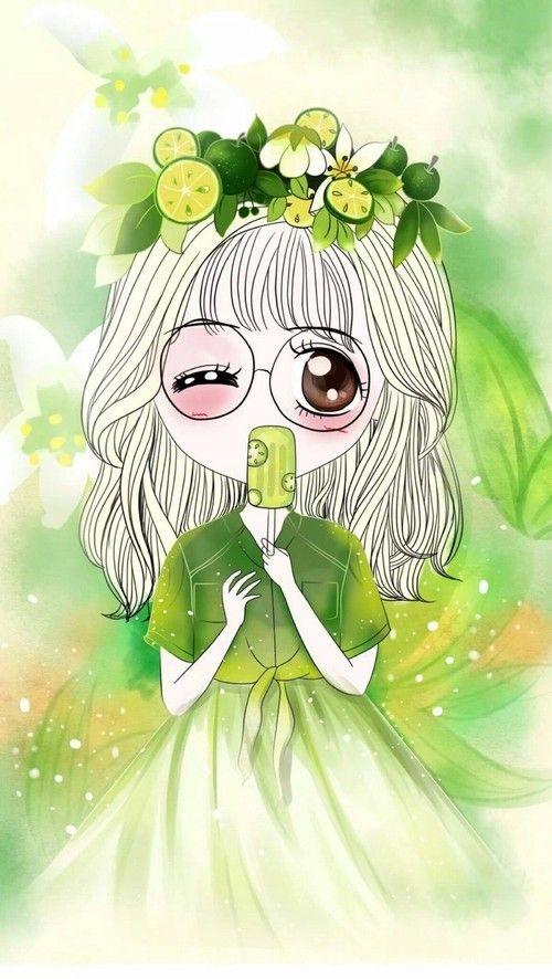 art girl, baby, background, beautiful, beautiful girl, beauty, cartoon, colorful, cute baby, cutie, design, drawing, fashion, fashionable, girl, girly, green, illustration, illustration girl, inspiration, kawaii, little girl, luxury, pretty, princess, sw