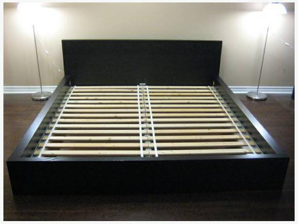50 double ikea malm bed frame black - Malm Bed Frame Ikea