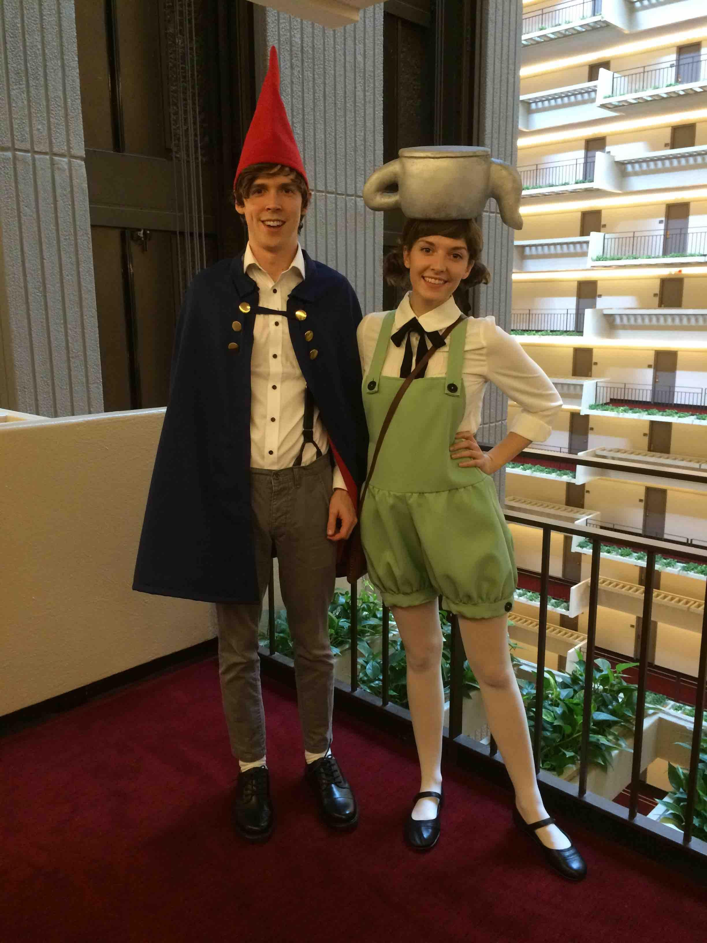 Self My Bf And I As Wirt And Greg From Over The Garden Wall Cosplay