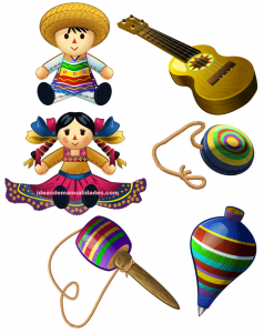 Juguetes Tipicos Mexicanos Para Colorear Disenos Mexicanos