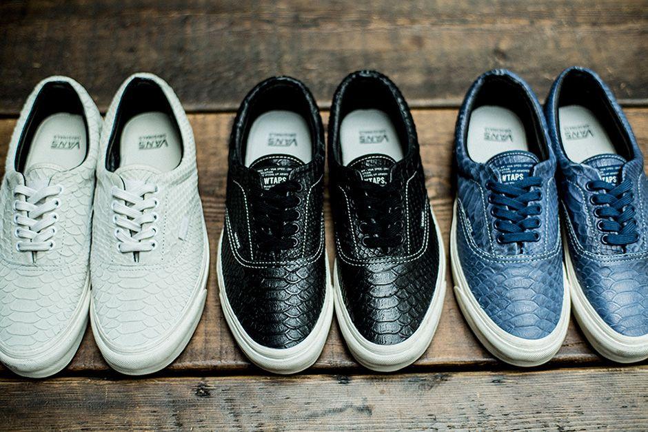 WTAPS Vans Bones Anaconda Era Fall 2016 | Sneakers, Vans