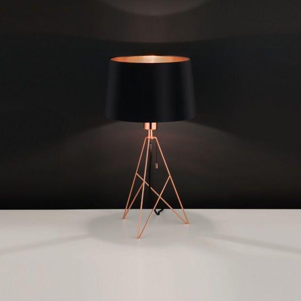 eglo camporale tafellamp 56 cm zwart afbeelding 2 Î Ï Ï Î