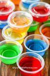 Basic Jello Shots #jelloshots Basic Jello Shots Recipe | MyRecipes #halloweenjelloshots