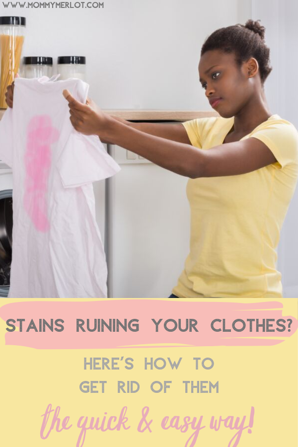 The best way to remove stains from baby clothes! #setinstains