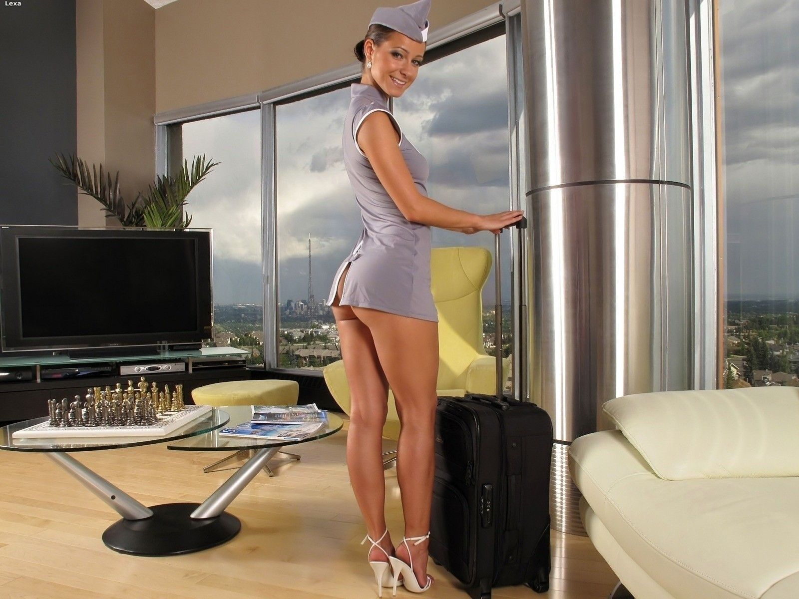 Short-Skirt-Girls-Stuardess-Myspace-338420.jpg (1600×1200) | Legs ...