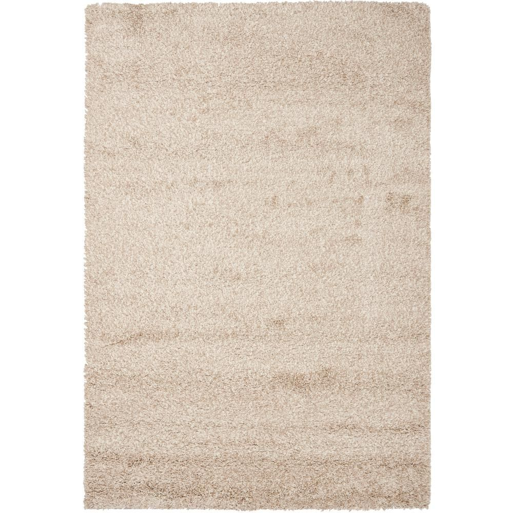 Safavieh California Shag Beige 4 Ft X 6 Ft Area Rug Sg151 1313 4 The Home Depot Area Rugs Solid Area Rugs Beige Area Rugs