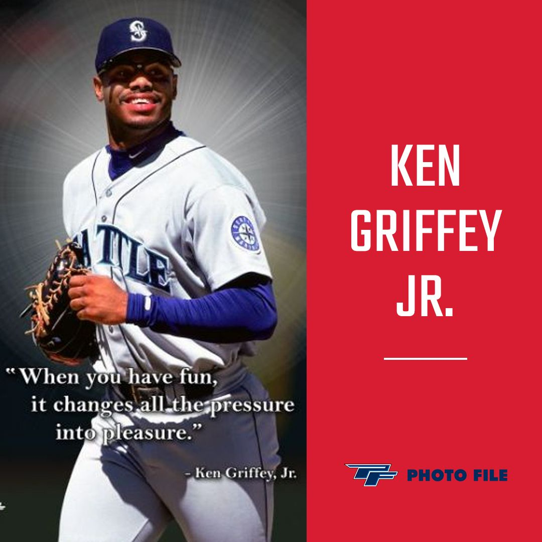 It Was So Obvious Just How Much Fun The Natural Had On The Field Ken Griffey Jr Ken Griffey Baseball Memorabilia