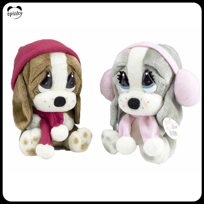 Wholesale Oem Big Eyes Stuffed Animal Big Head Soft Toy Dog Plush