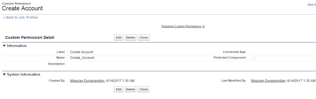 Custom permissions in Salesforce - Custom permissions let