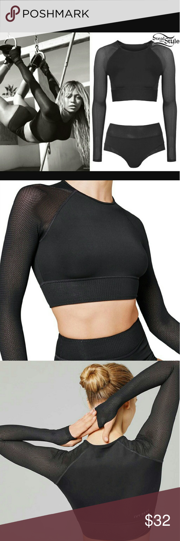 b16a4b2be482ab  host pick  Ivy Park Mesh Crop Top Last chance to buy!! As pictured on  Beyonce
