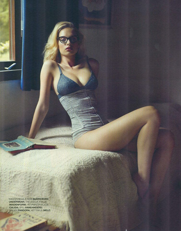 e6f8ed97ac Dioni Tabbers ~ gentleman will make pases at this very sexy dutch bird in  glasses ~ Oh my yes! Lush lingerie  3