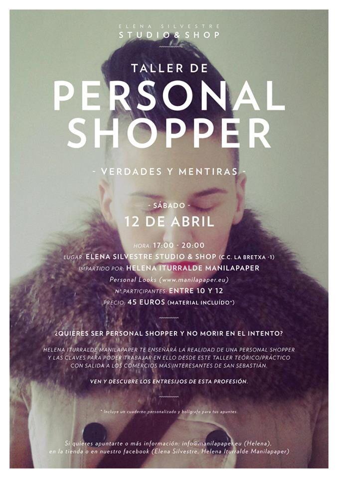 Taller Personal Shopper, verdades y mentiras