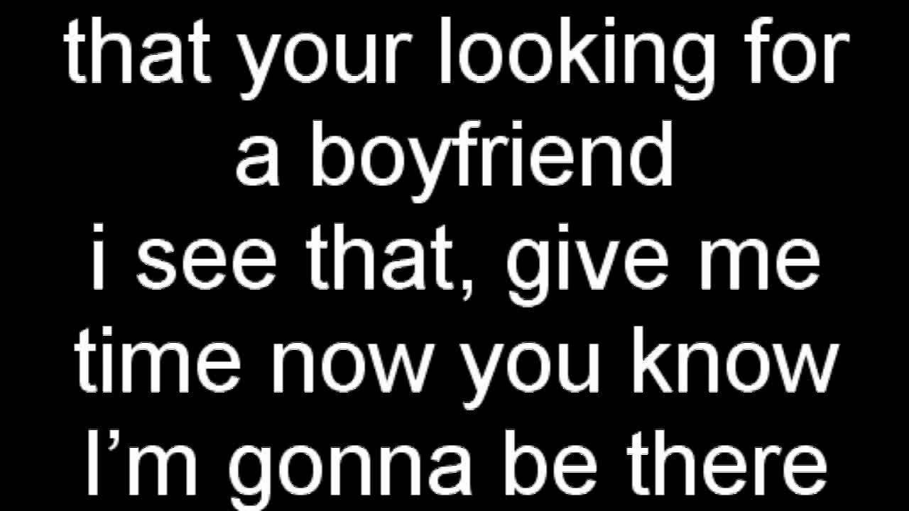 Song lyrics about boyfriends