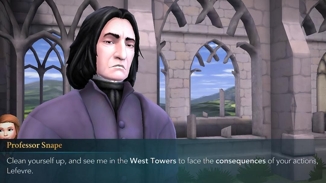 The Face Before The Fall And By Fall I Mean The Negative 40 Points To My House E Harrypotter Harrypottermy Hogwarts Mystery Harry Potter James Potter