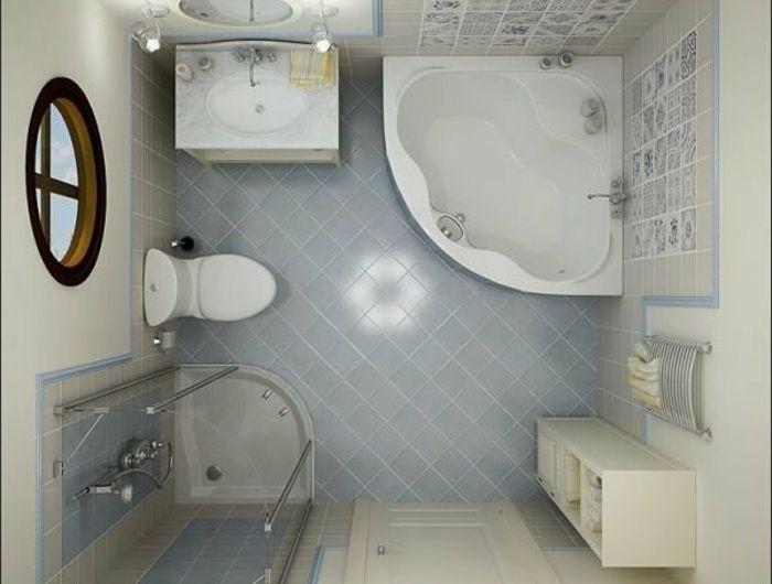 Comment aménager une salle de bain 4m2? | House-piration | Pinterest ...