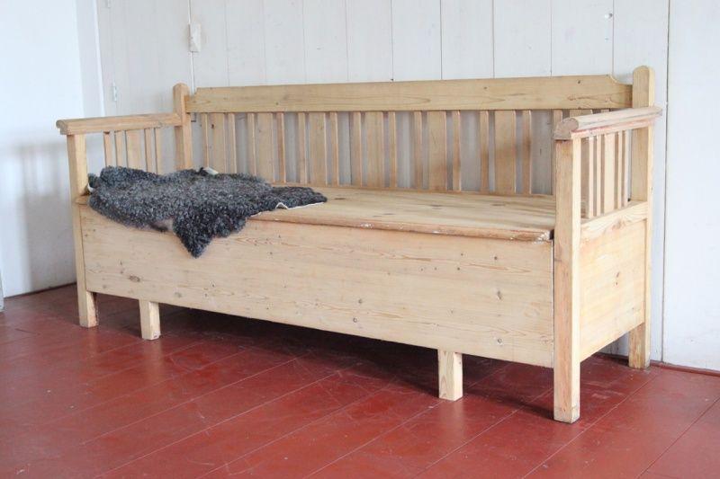 Want!! antieke zweedse keukenbank trä interior pinterest interiors