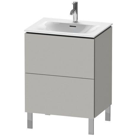 L-Cube Vanity unit floorstanding #LC6595   Duravit