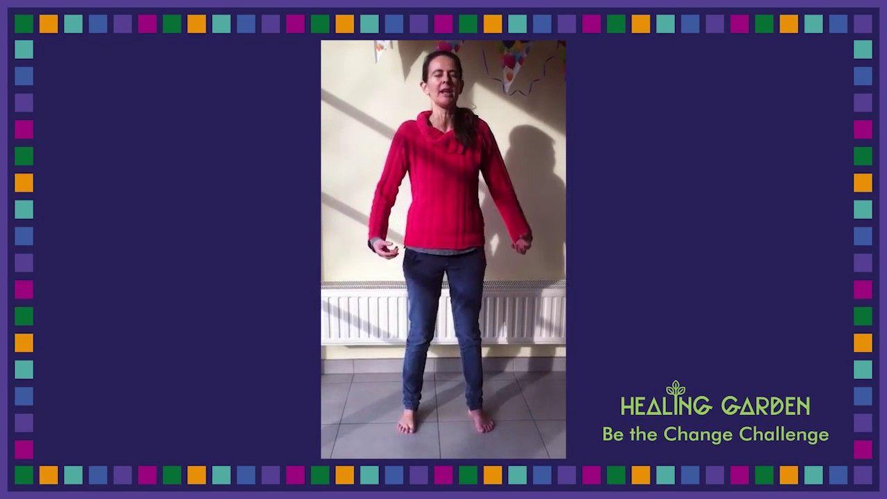 Healing Garden Be the Change Challenge Day 15: Sandra Dierick