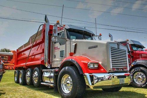 Pin by US Trailer Rental & Storage on Trucker Max custom ... Kenworth Dump Trucks Pics