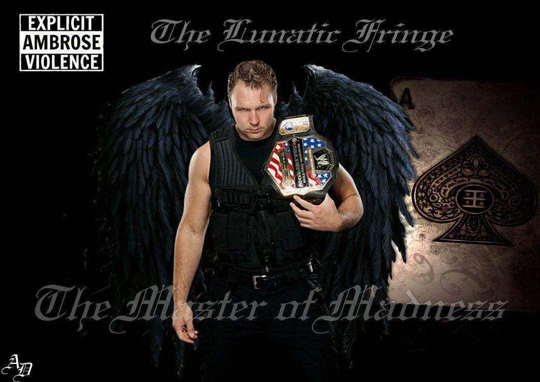 WWE DEAN AMBROSE UNSTABLE AMBROSE VIOLENCE iphone case