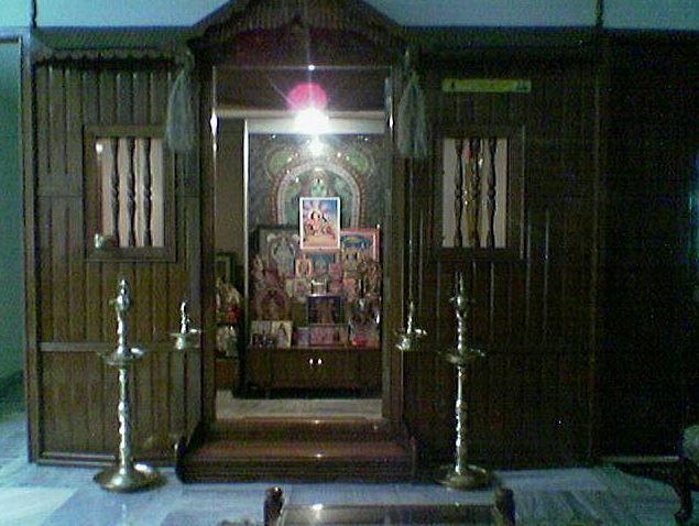 Modern Pooja Room Designs   temples   Pinterest   Puja room ...