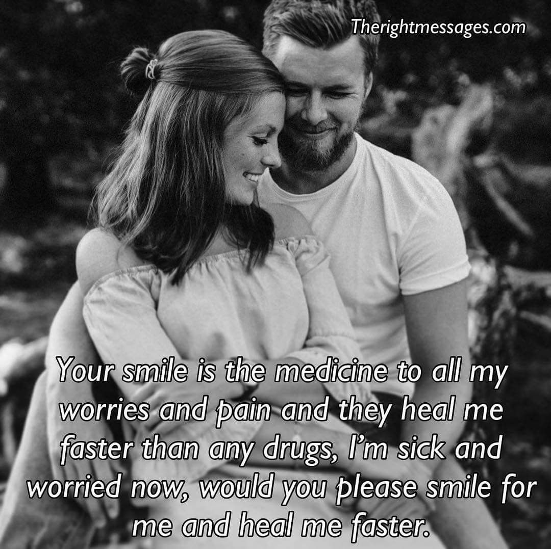Sweet Messages Quote For Him To Make Him Smile The Right Messages Quotes For Him Message Quotes Flirting Quotes For Him