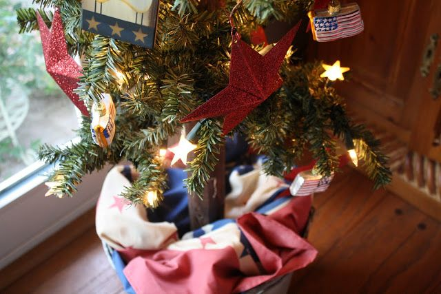 Red White and Blue Christmas Blue christmas and Tree skirts