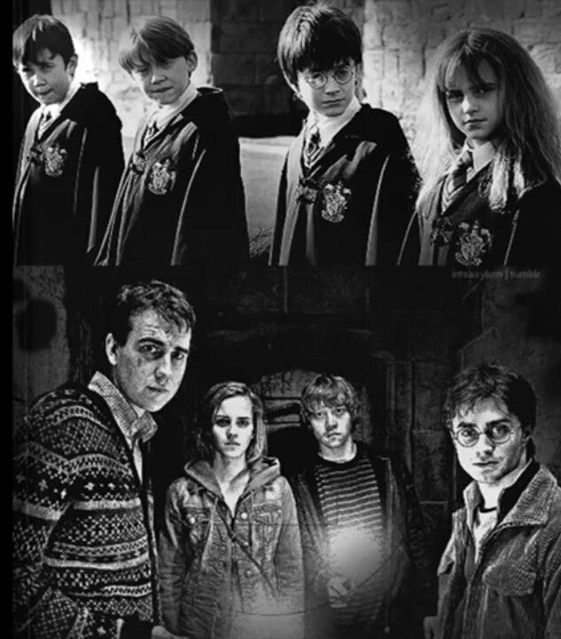 Before and after   Wizarding World of Harry Potter ...