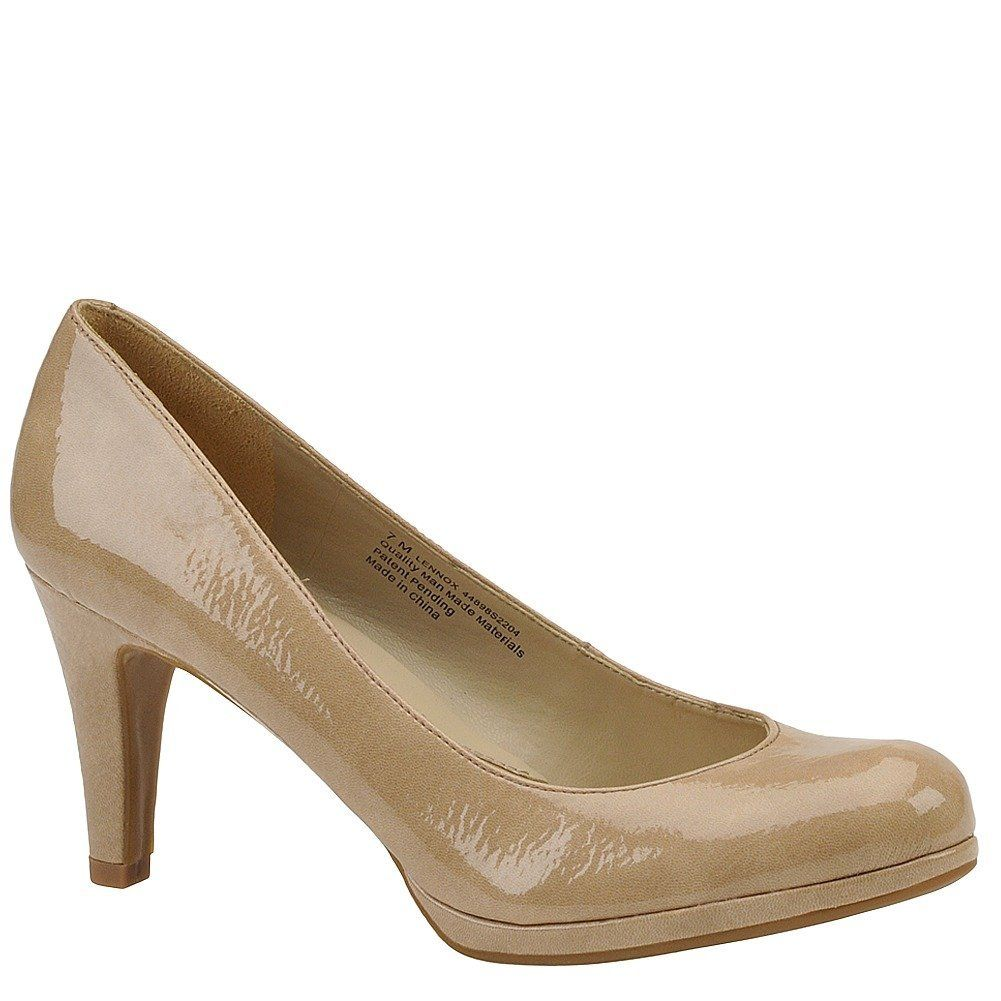 Womens Shoes Naturalizer Lennox Taupe Shiny