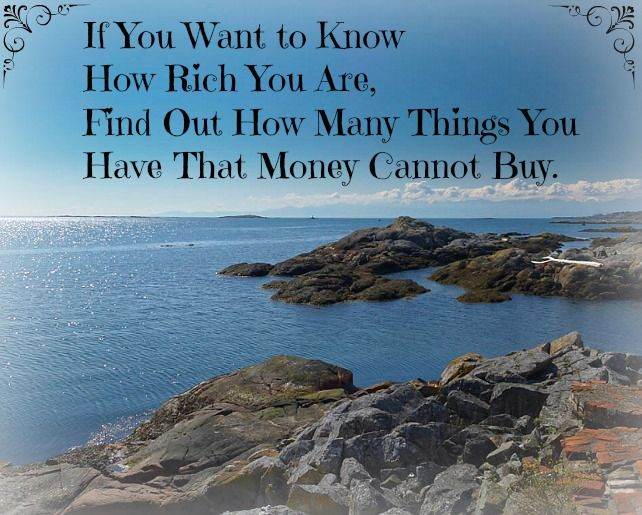 If You Want To Know How Rich Are Find Out Many Things