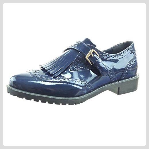 Neueste Schuhe Damen Jana DENIM Mokassin in Blau