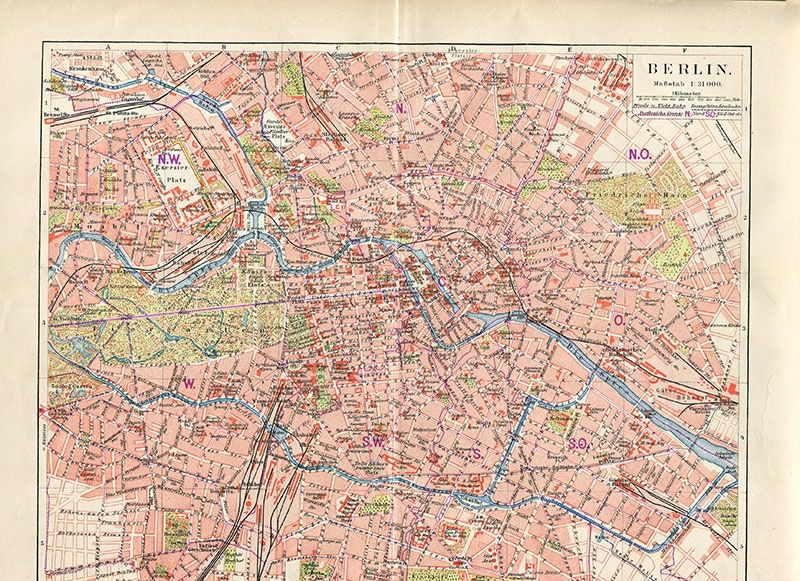 Wonderful Free Printable Vintage Maps To Download ...