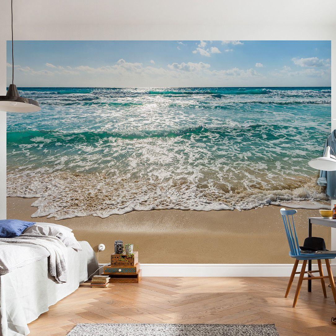 Types Of Wallpaper Coverings: Komar Seaside Wall Mural In 2019