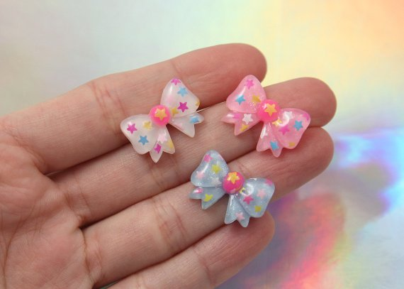 RESIN CHOSE STYLE FLAT BACK COLORFUL CABOCHONS RING EARRING MAKIN,DONUT,FLOWER