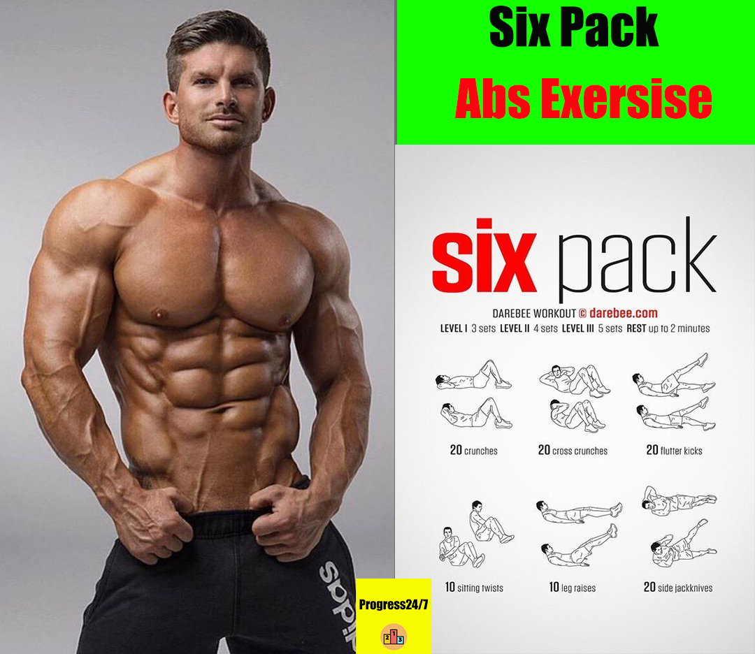 Six Pack Abs Exersise Binaraga