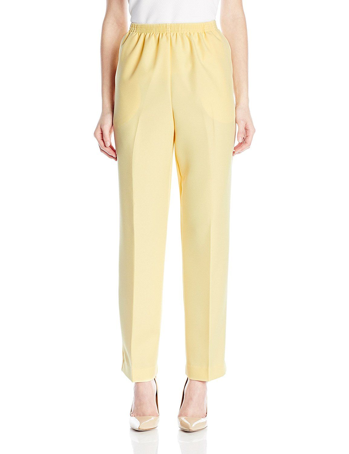 9ed91411a83 Alfred Dunner Women s Petite Poly Med Pant    This is an Amazon Affiliate  link. Read more at the image link.