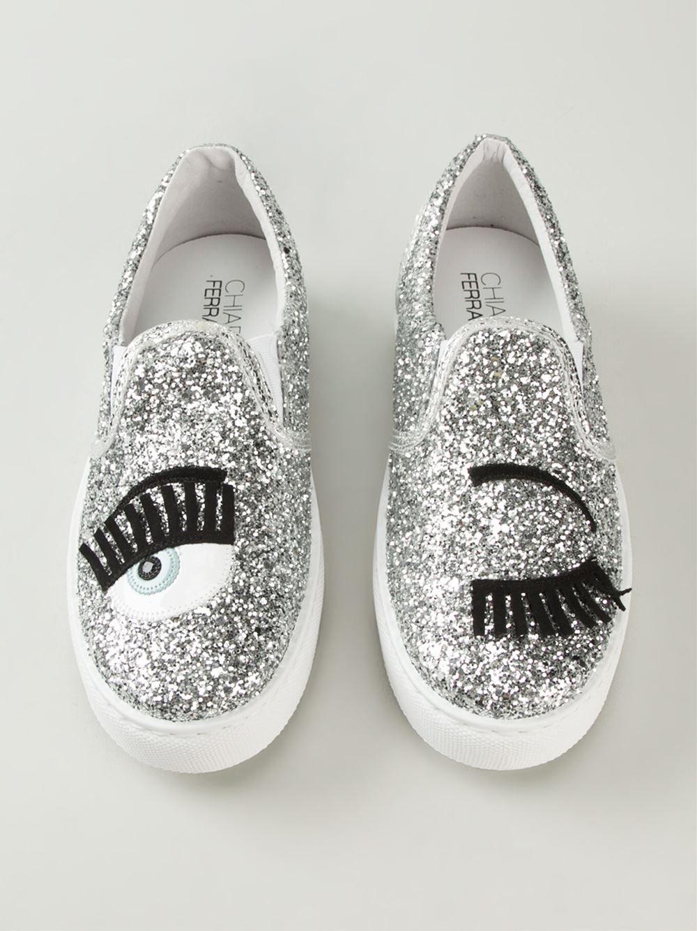 outlet store 5ee71 0d0b3 Chiara Ferragni 'Flirting' slip-on sneakers   Chiara ...