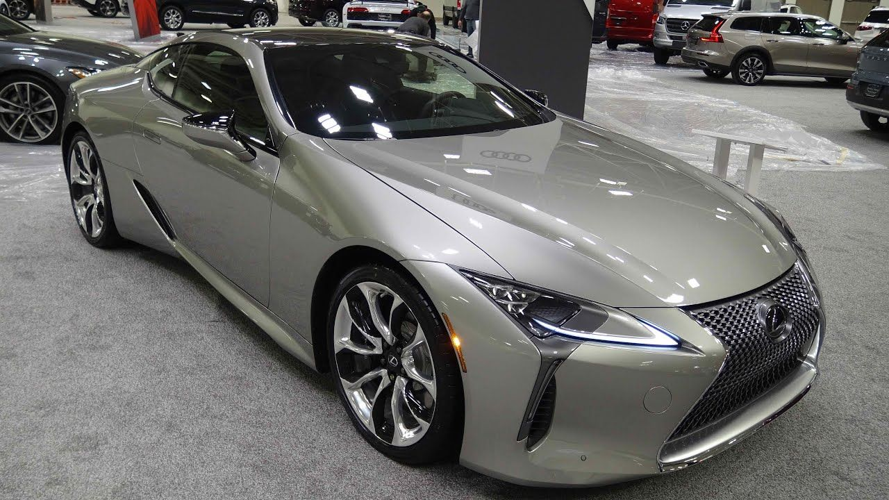 2020 Lexus Lc500 Coupe At The Twin Cities Auto Show In 2020 Lexus Sports Car Lexus Lexus Coupe