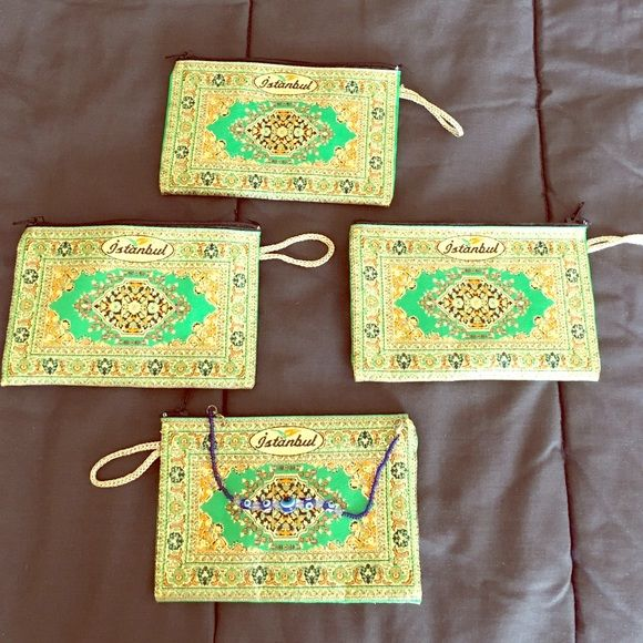 4 ISTANBUL WRISTLETS w free evil eye bracelet Perfect for gift or daily use Bags Clutches & Wristlets
