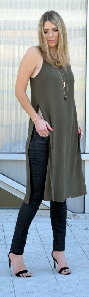 Side Slits / Fashion by Jeans and Roses