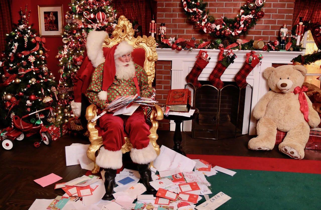 Commercial Media Appearances Red Sled Santa Cortney