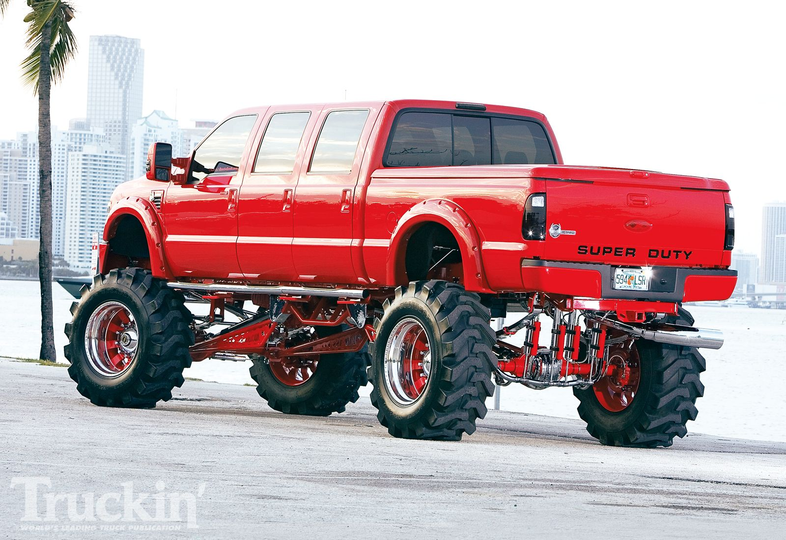 4 Door Tractor : The ford super duty is a line of trucks over lb