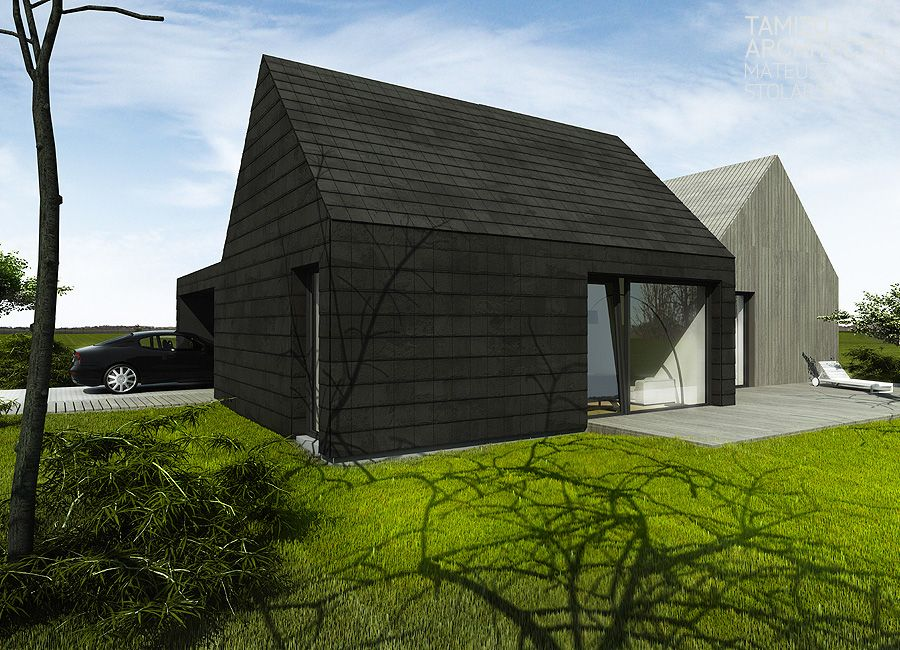 K House Single Family House Tamizo Architects Architour Haus Architektur Schiefer