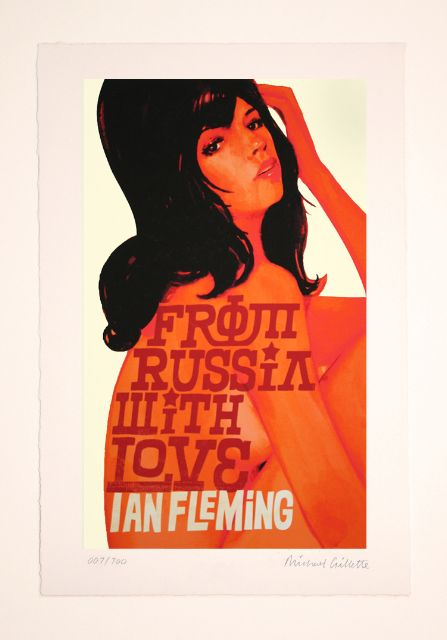 From Russia With Love - James Bond Prints by Michael Gillette