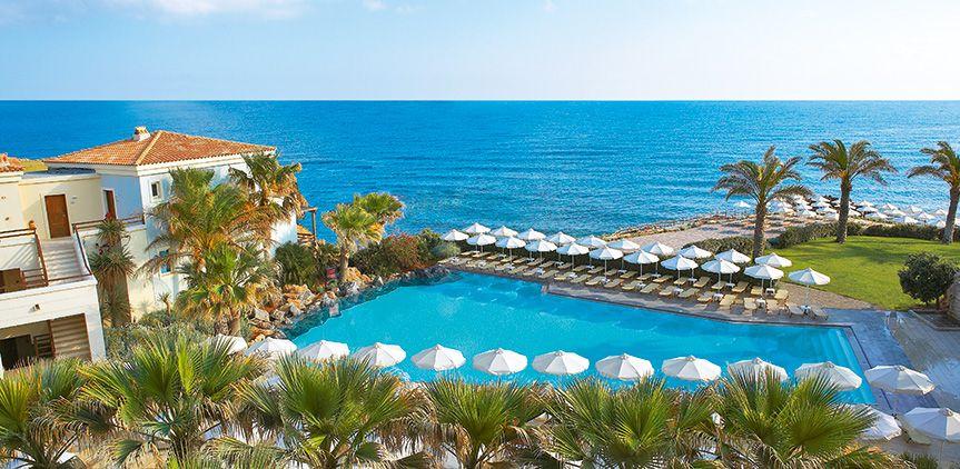 Top-All-Inclusive-Hotel-Crete-Greece #allinclusiveresort #allinclusivehotel  #familyhotel #familyresort #clubmarine | Hotels, Familienurlaub, Urlaub
