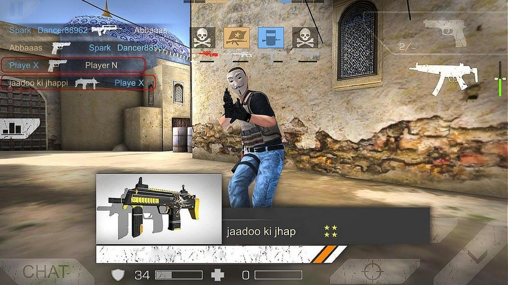 Let's play! Standoff Multiplayer APK for Android Free