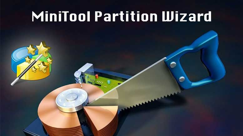 The MiniTool Partition Wizard is an efficient software.The proficient software is capable of deleting, moving, resizing,converting hard disk partitions.