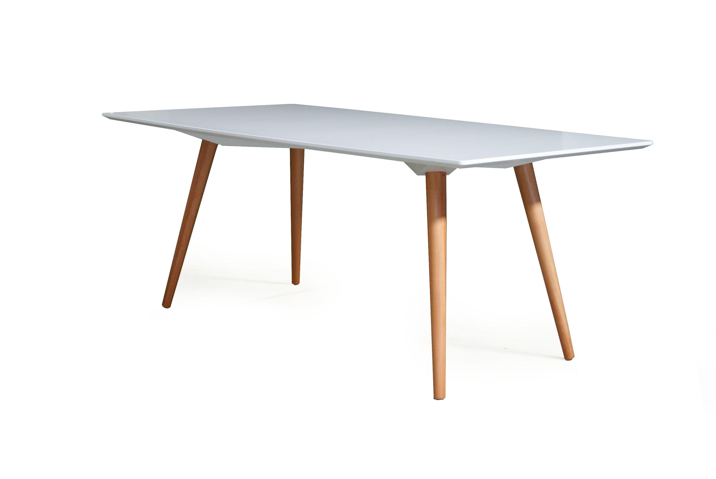 Mesa de jantar de teca com p palito pesquisa google - Mesa de teca ...