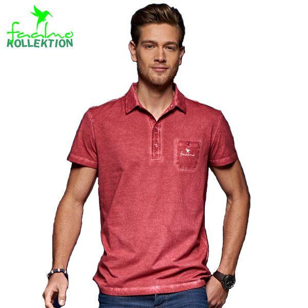 Men Spray Polo » Trendiges Herren Poloshirt mit aufwändiger Spray-Optik. Dieses Sp ...